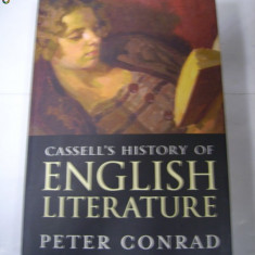 Cassell's History of English Literature -Peter Conrad - Studiu literar