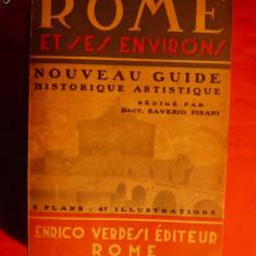 ROMA - GHID TURISTIC-istoric -artistic - 1937 (HARTI)