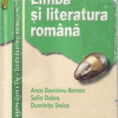 Manual LIMBA SI LITERATURA ROMANA CLS A X A SAM ED. CORINT - Manual scolar corint, Clasa 10