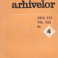 REVISTA ARHIVELOR - nr.4/1979