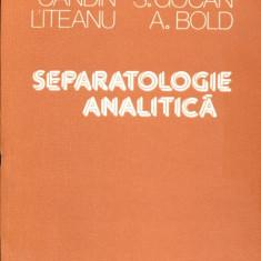 Separatologie analitica