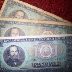 Bancnota una suta 100 lei din 1966, Balcescu - Bancnota romaneasca