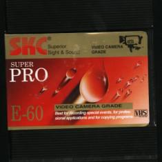 Casete video SKC profesionale VHS