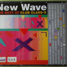 NEW WAVE - THE BEST OF CLUB CLASS X - 2 C D Originale ca NOI - Muzica House
