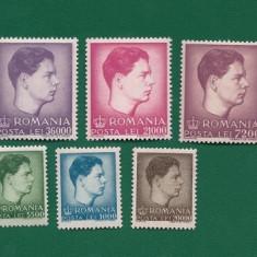 ROMANIA-UZUALE MIHAI I-NESTAMPILATA-LP 212-9 VAL. - Timbre Romania