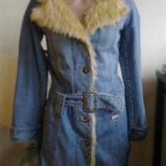 Super haina de iarna cu blana, Lee Cooper - cojoc dama