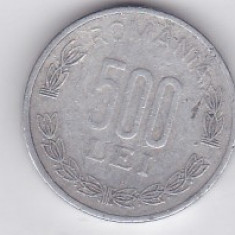 Lot 12 monede de 500 lei Romania 1999 si 2000