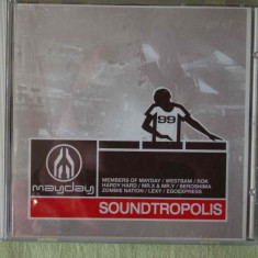 SOUNDTROPOLIS - C D Original - Muzica House