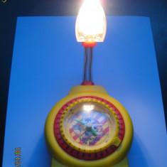 CEAS MASA CU LAMPA, PENTRU SUPORTERII GIALLOROSSI(A.S.ROMA)