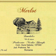 Vin merlot
