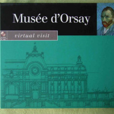 MUSEE D'ORSAY - CD-ROM PC Original - Carcasa DVD