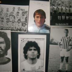 Foto fotbal Maradona, Socrates, Germany, Hamburg