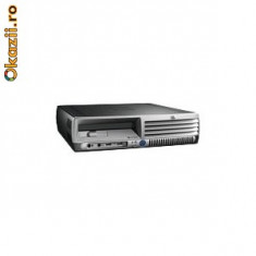 PC DUAL CORE hp - Sisteme desktop cu monitor HP, Intel Core 2 Duo, 2501-3000Mhz, 1 GB, 40-99 GB, Samsung