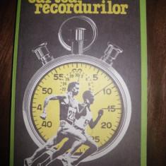 Cartea recordurilor, de C Topescu si Virgil Ludu - Carte sport