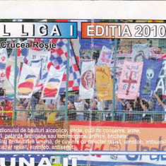 Abonament tribuna 2 Otelul Galati turul 2010 / 2011 - Bilet meci