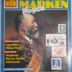 GERMANIA - BRIEF MARKEN MAGAZIN. REVISTA FILATELICA