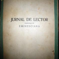 Perpessicius, Jurnal de lector, 1944