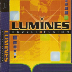 JOC PSP LUMINES PUZZLE FUSION ORIGINAL PAL / STOC REAL / by DARK WADDER - Jocuri PSP Ubisoft, Arcade, 3+, Single player