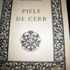 George Magheru, Piele de cerb, 1937 - Carte de lux