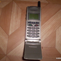 Samsung 2200 - 55 lei - Telefon Samsung, Gri, Cu clapeta