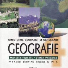 Manual GEOGRAFIE CLS A IV A ED. ARAMIS - Manual scolar Aramis, Clasa 4