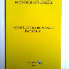 BANAT-CARTE DESPRE AGRICULTURA, RESITA