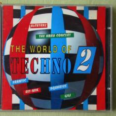 THE WORLD OF TECHNO 2 - Selectii - C D ca NOU - Muzica House