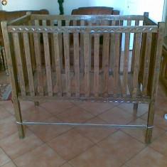 Patut copil - Patut lemn pentru bebelusi