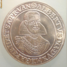1.250 GERMANIA MEDALIE ALBERT ARHIDUCE DE AUSTRIA EIN TRIMM TALER 1991 40mm, Europa