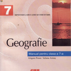 GEOGRAFIE MANUAL PT CLS A VII A ED. ALL - Manual scolar all, Clasa 7