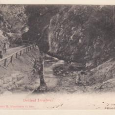 Defileul Dambovicioarei - 1904 (U.P.U.)