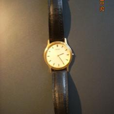 Ceas SEIKO Quartz GOLD PLATED Original - Ceas barbatesc Seiko, Placat cu aur