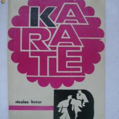 Nicolae Bucur - Karate (1972) - Carte sport