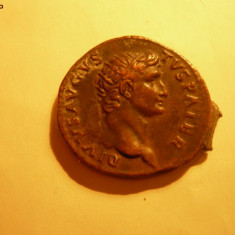 Copie -Dupondus comemorativ AUGUSTUS - Mare Raritate! - Moneda Antica