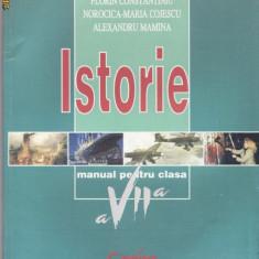 Manual ISTORIE CLS A VII A ED. CORINT de F. CONSTANTINIU - Manual scolar corint, Clasa 7