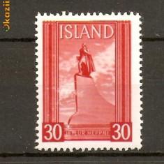 Timbre Islanda 1938 Serie nest.