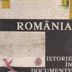 Album Romania : istorie in documente
