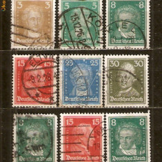 Timbre Germania D.R.1926 Lot st.