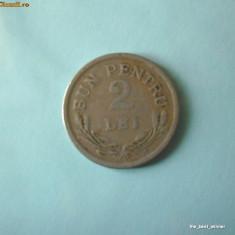 Romania - moneda 2 lei 1924
