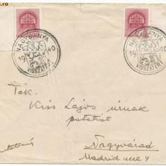 RFL 1940 Transilvania plic iredentist maghiar stampila speciala Baia Mare