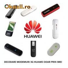 DEBLOCARE MODEM 3G HUAWEI - VODAFONE - ORANGE - ZAPP