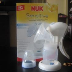 Pompa manual san NUK Sensitive - Pompa San