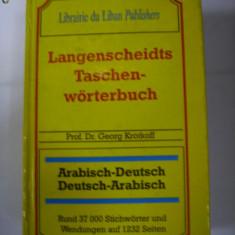 Dictionar arab-german si german -arab