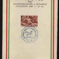 Aerofilatelie, Ungaria, 1940