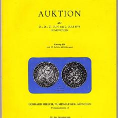 Catalog licitatie 116/1979, Gerhard Hirsch-Munchen