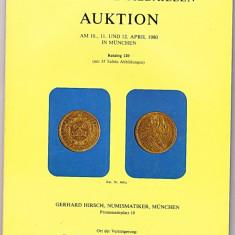 Catalog licitatie 120/1980, Gerhard Hirsch-Munchen