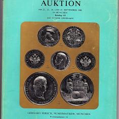 Catalog licitatie 122/1980, Gerhard Hirsch-Munchen
