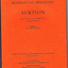 Catalog licitatie 92/1975, Gerhard Hirsch-Munchen