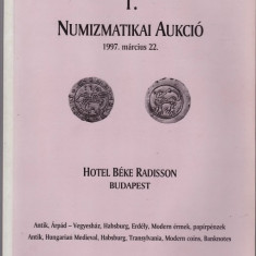 Catalog licitatie nr1/1997, Pannonia Terra-Budapesta