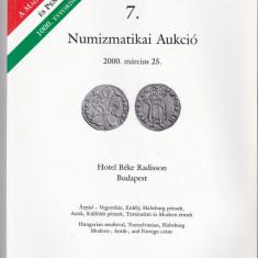 Catalog licitatie nr 7/2000, Pannonia Terra-Budapesta